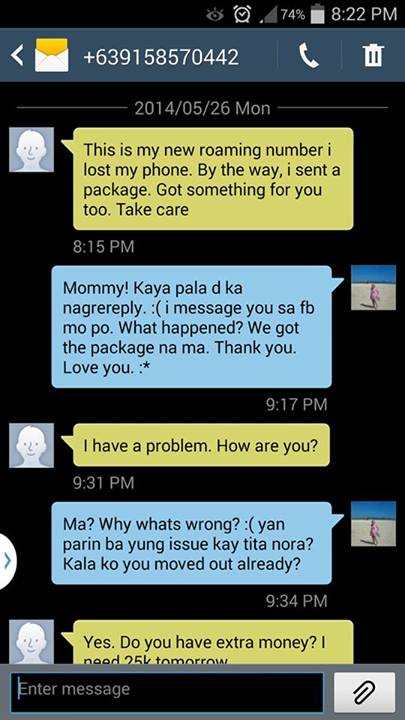All About Juan » Text Scammer Pretends to be Mom in Need ...