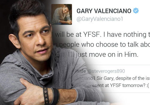 All About Juan » Gary Valenciano responds to a tweet insulting his