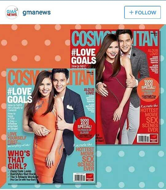 Alden Richards and Maine Mendoza for Cosmopolitan Magazine
