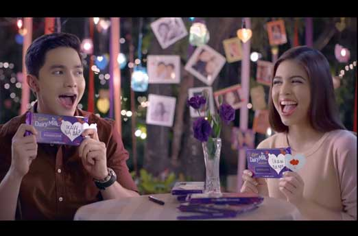Alden Richards and Maine Mendoza Cadbury Dairy Milk TVC
