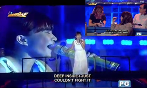 Did It's Showtime band causes Rachel Gabreza's defeat in 'Tawag ng Tanghalan'