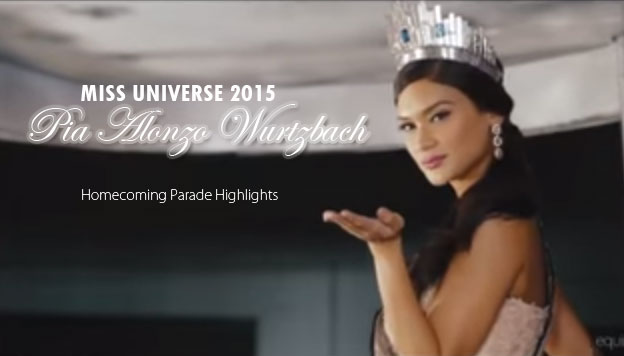 Miss Universe 2015 Pia Wurtzbach Homecoming Parade Highlights