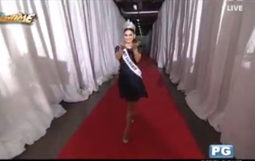 Miss Universe Pia Wurtzbach On It's Showtime
