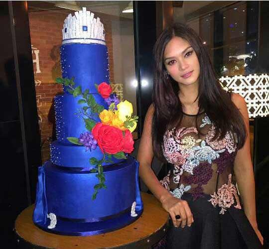 Miss Universe Pia Wurtzbach During Aces & Queens Send Off Party