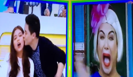 Alden Richards Stoles Kiss From Maine Mendoza