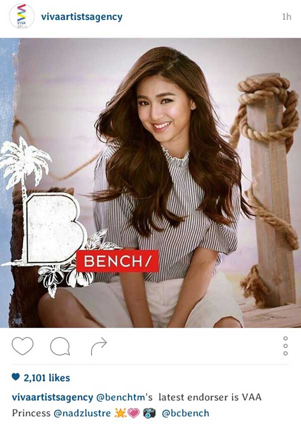 Nadine-Lustre-Joins-Bench-Family