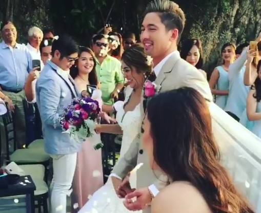 Bangs Garcia Marries Lloydi Birchmore in Boracay