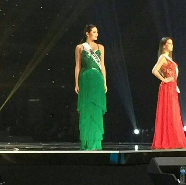 Maxine Medina during Miss Universe Preliminary Competition Rehearsal