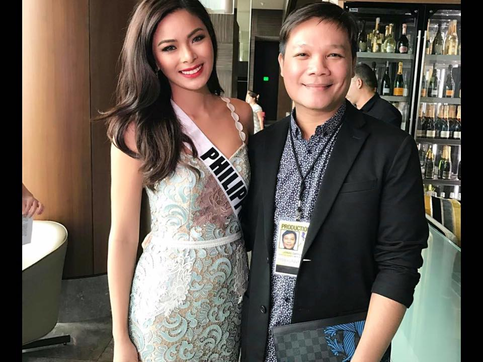 Maxine Medina's look during Miss Universe 2016 Preliminary Interview
