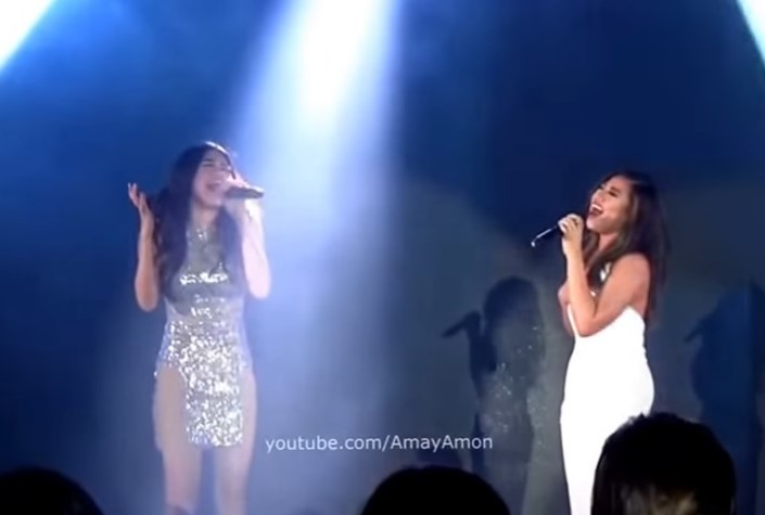 Morissette Amon and Julie Ann San Jose Sings Secret Love Song