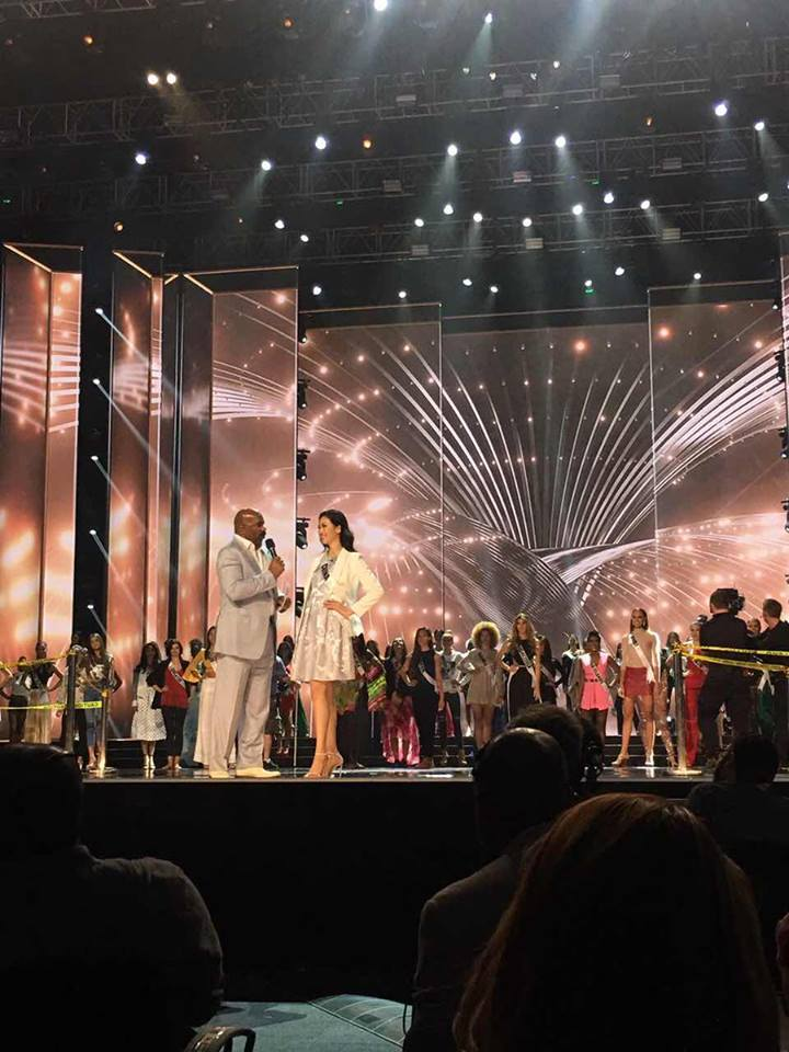 miss universe final rehearsal