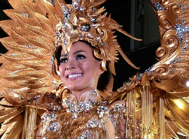 Miss Universe Indonesia 2016 National Costume for Miss Universe 2016