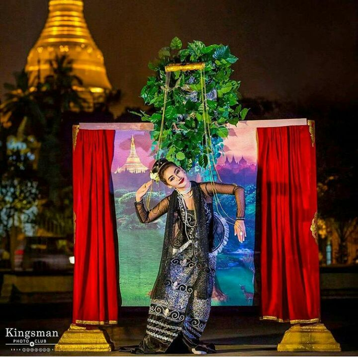 Miss Universe Myanmar 2016 National Costume for Miss Universe 2016