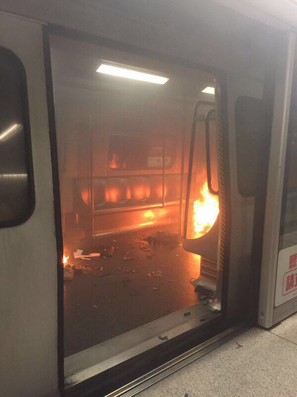 Shocking Video Images from the Hong Kong MTR Explosion