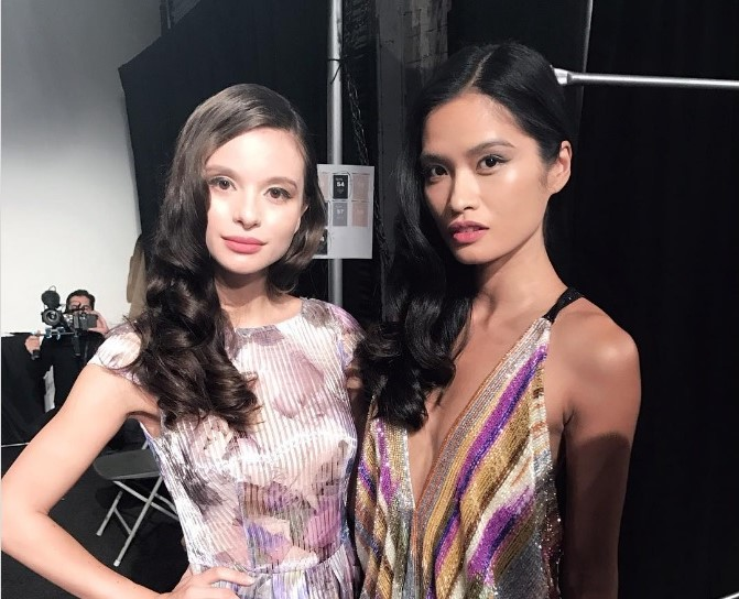 janine tugonon Valerie Weigmann New York Fashion Week