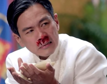 'Madam Secretary' punches 'Philippine president' in the face