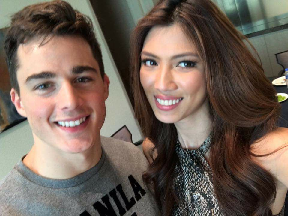 Nicole Cordoves with the World's hottest Math Teacher, Pietro Boselli