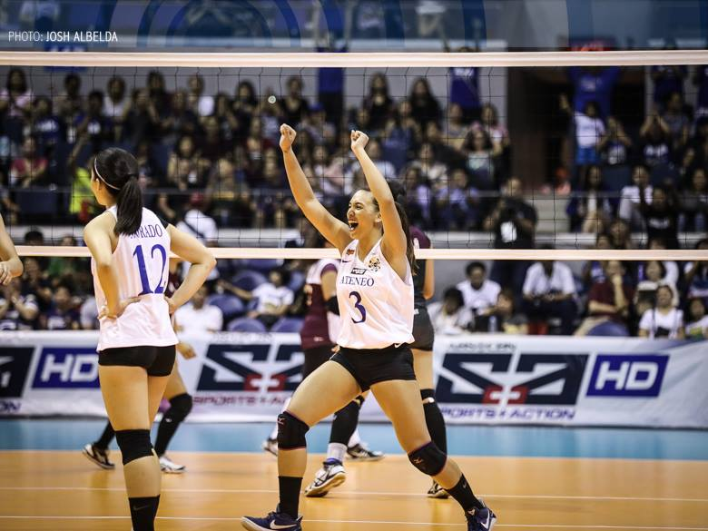 UAAP 79 Women's Volleyball UP vs ADMU- March 11, 2017