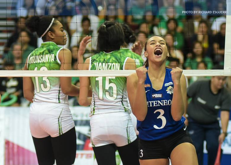 WOMEN'S VOLLEYBALL ROUND 1 De La Salle University Vs Ateneo De Manila University - March 4, 2017