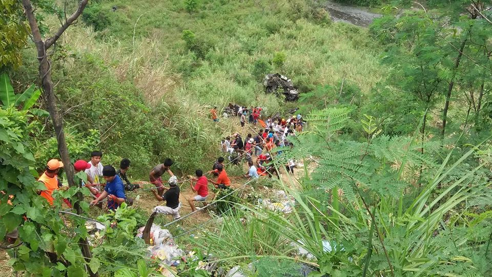 Carrangalan, Nueva Ecija Bus Accident