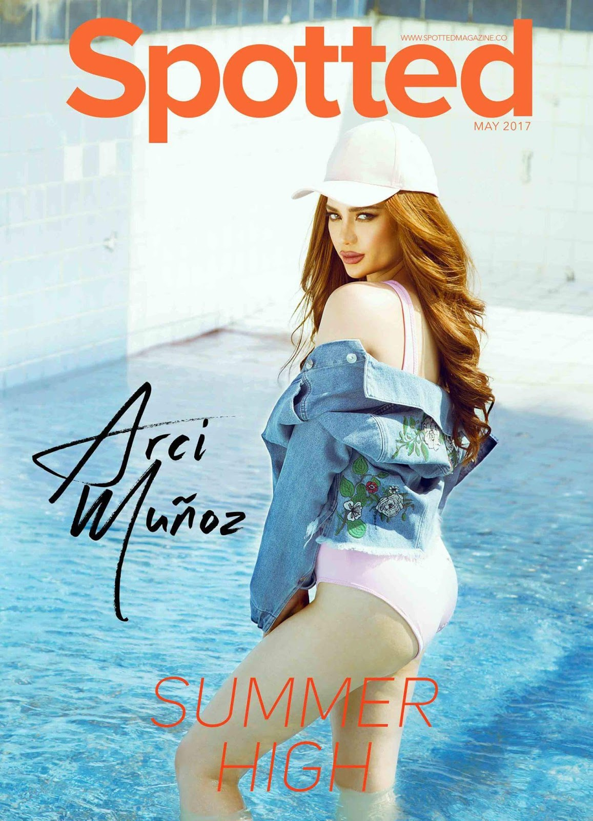 Arci Munoz on the Cover of Spotted