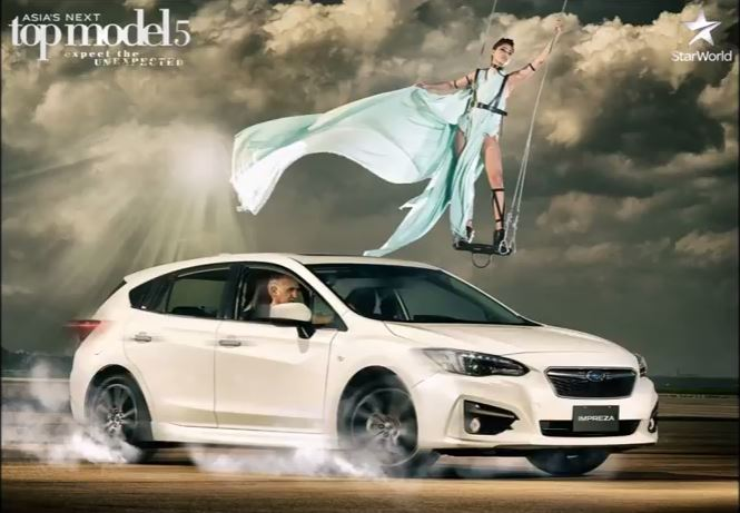 Maureen Wroblewitz in Asia's Next Top Model Subaru Challenge