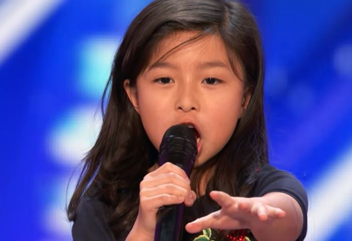 9-Year-Old Celine Tam Stuns Crowd with 'My Heart Will Go On'