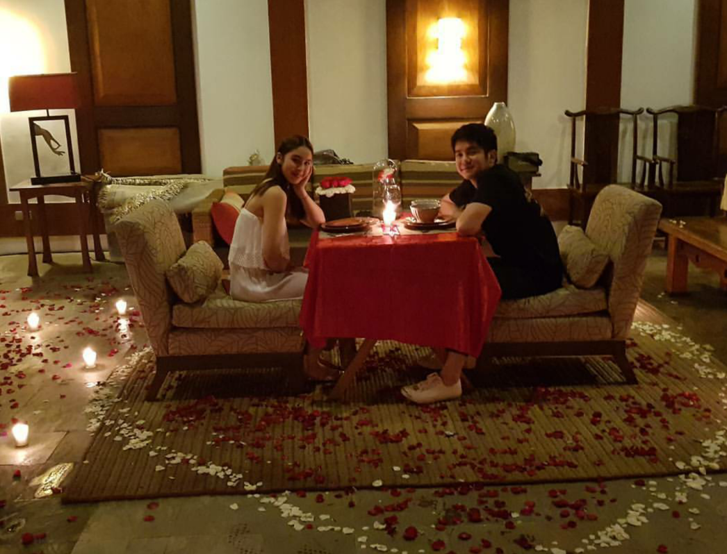Julia Barretto and Joshua Garcia on a Romantic Date