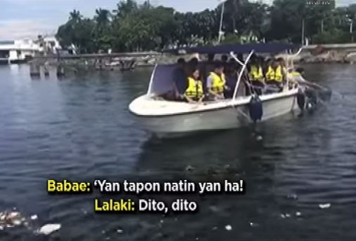 manila bay cleanup drive publicity