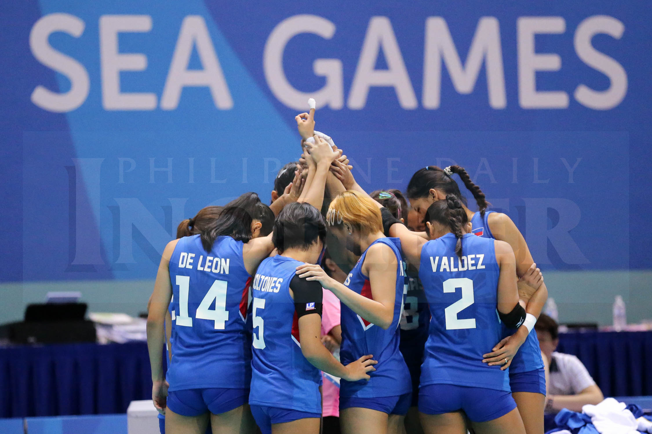 Philippines vs Malaysia Womens Volleyball