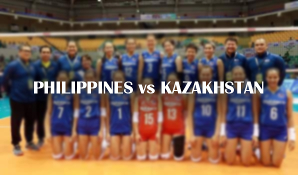 Philippines Vs Kazakhstan | Asian Women's Volleyball Championship 2017