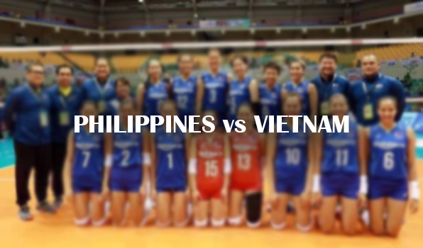 philippines vs vietnam Asian Women's Volleyball Championship 2017