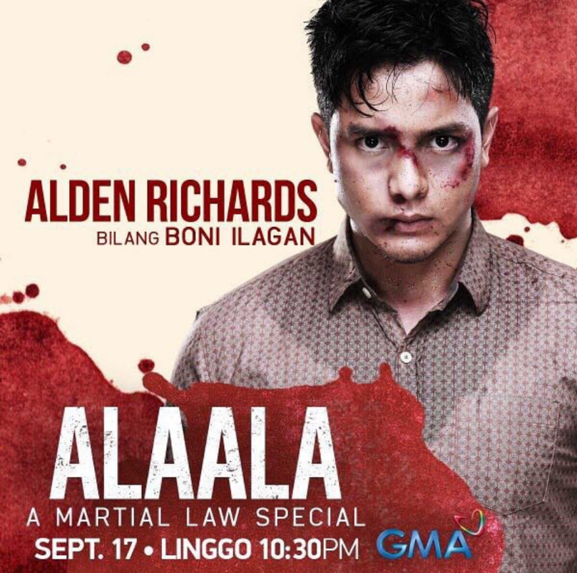 Alden Richards Stars as Boni Ilagan in GMA's Martial Law Special