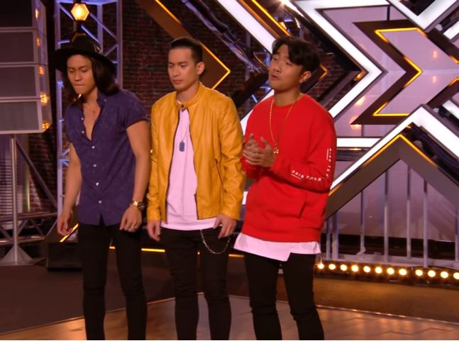 Boyband from PH auditions in The X Factor 2017