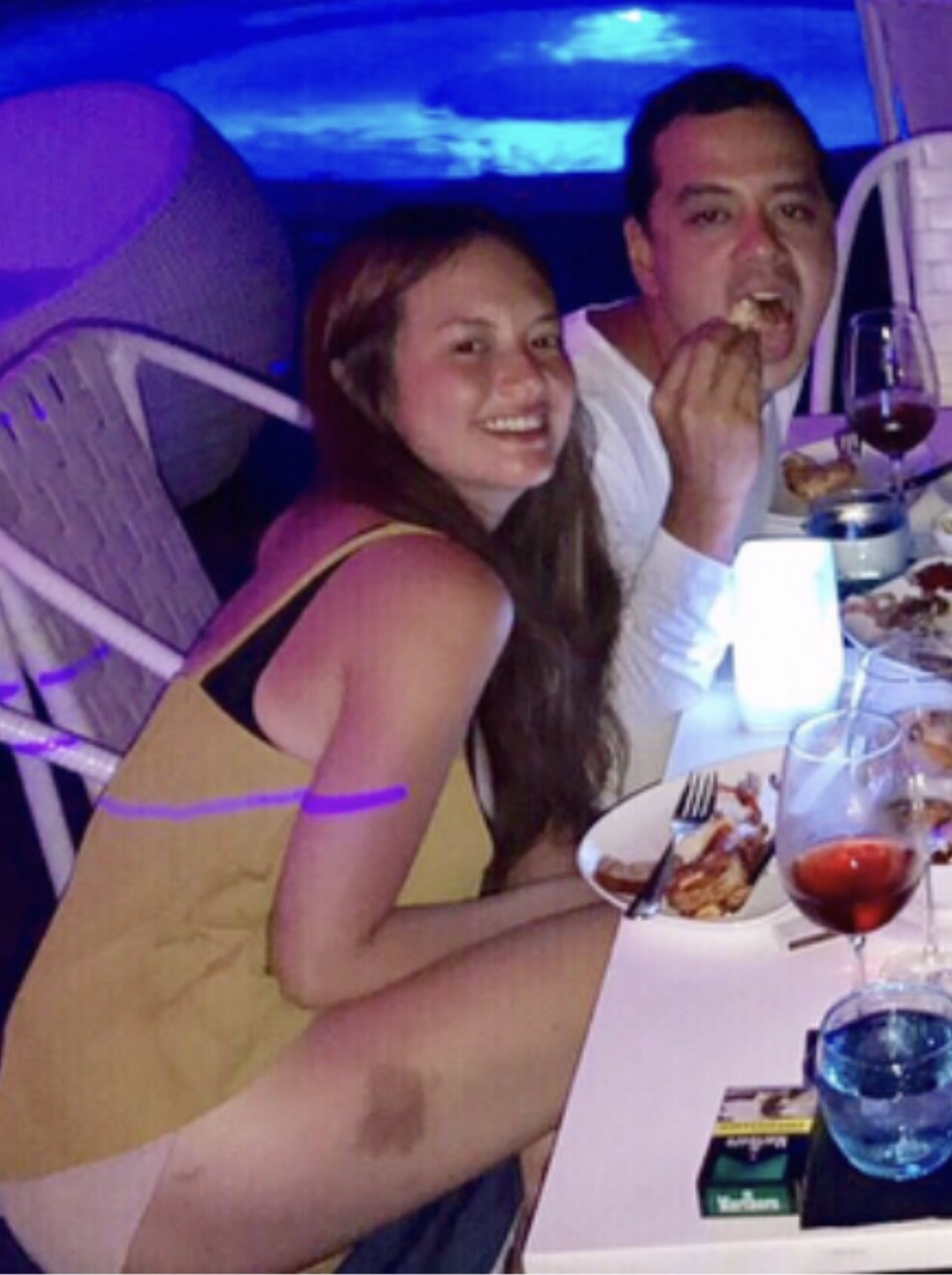 ohn Lloyd Cruz and Ellen Adarna in cebu