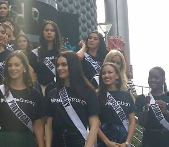 Official Welcome Event of Miss Universe 2017 at Las Vegas