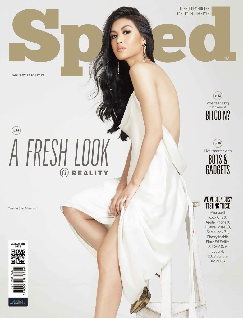 Teresita Ssen Marquez on the Cover of Speed